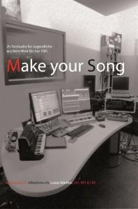 Make your Song Plakat